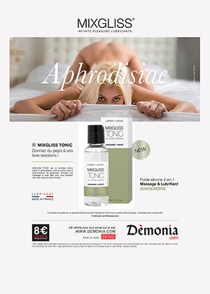 Publicité Sensuelle Mixgliss Tonic